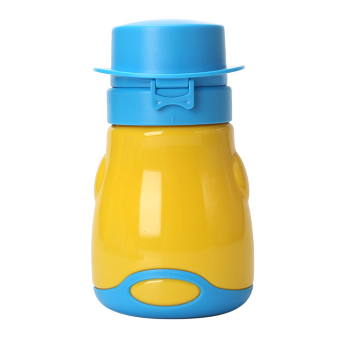 Portable Baby Potty Pee Bottle Leak Proof Emergency Toilet For Children Baby Toilet Kid Travel Folding Man Woman Pee Tool-Yellow