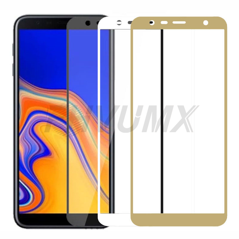 Full Cover Tempered Glass For Samsung Galaxy A6 A8 J4 J6 Plus Protective Glass On The A7 A9 J2 J7 J8 2018 Screen Protector Film