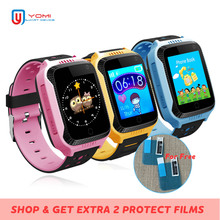 GPS Smart Watch for Child Baby Support SIM card SOS Call Camera Flashlight Wristwatch for Boy and Girl IOS/Android PK Q100 Q50 kids smart watch child wristwatch gps support sim card wifi locator tracker anti lost for ios android children baby girl boy men