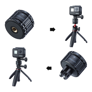 Image 3 - Ulanzi GP 4 Quick Release Buckle Set for Gopro 9 8 Max 7 6 5 Universal Quick Switch Kit Gopro Accessories