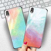 silicone case Tempered Glass Case For Huawei Y5 Y6 pro 2019 Cases Space Silicone Covers for Huawei Y9 Y5 Y7 Y6 Prime 2018 back cover (2)