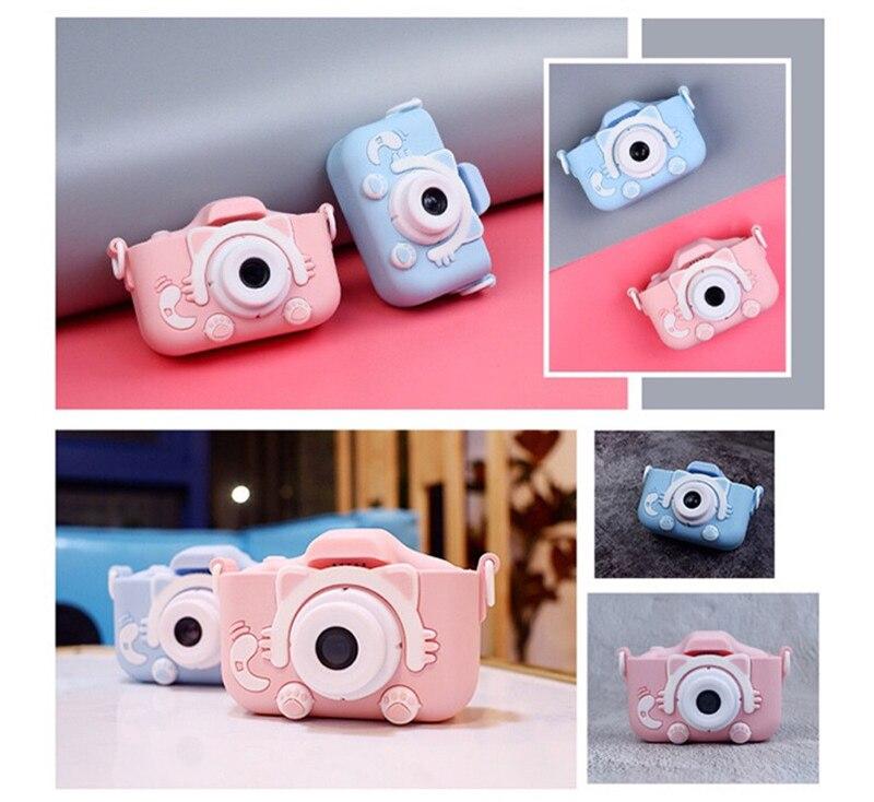 Crianças câmera digital 2 Polegada tela hd