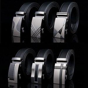 Famous Brand Belt New Male Designer Automatic Buckle Cowhide Leather men belt Luxury belts for men Ceinture Homme