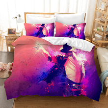 Michael Jackson 3D Bedding Set Duvet Covers Pillowcases Dance King Comforter Sets Bed Linen Bedclothes