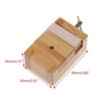 Imadło płaskie z drewna Mini zacisk na imadło stołowe płaskie szczypce do obróbki drewna grawerowanie tanie i dobre opinie BENGU CN (pochodzenie) G6KA7HH1103505