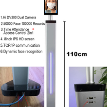 Dynamic Camera Access-Control-2.0 Face-Recognition Thermal-Time-Attendance 50000 Temperature-Detection