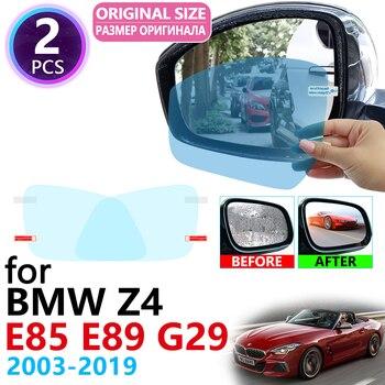 BMW Z4 E85 E89 G29 | Miroir de rétroviseur complet, Anti-buée et imperméable, Film Anti-brouillard, pour BMW 2003 2019 2006 2008