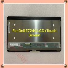 Touch-Assembly Latitude LP125WF1-SPA4 E7240 DELL Display Lcd-Screen for PY6P2 Original