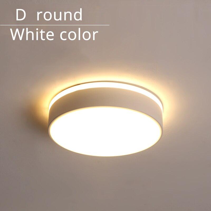 D round white