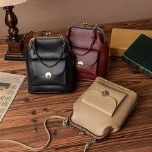 Women's Handbags Purses Pocket Crossbody-Bag Shoulder 2-Straps Vintage High-Quality Solid