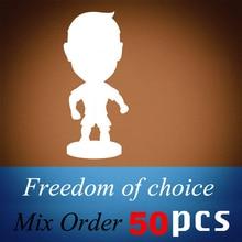50PCS/LOT FOOTBALL 2.5 Figurine (Mixed Order) Doll Toy Figure Shipping Free 50pcs lot rt9193 15pb rt9193 15
