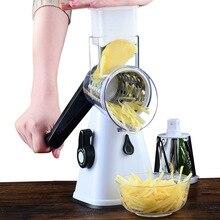Karotte Gemüse Cutter Runde Slicer Reiben Kartoffel Käse Schredder Lebensmittel Prozessor Gemüse Chopper Küche Roller Gadgets Werkzeug