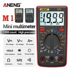 Aneng m1 multímetro digital esrmeter multímetro testadores multímetro digital verdadeiro rms multi medidor richmeters dmm 400a 10a