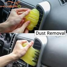 Limpiador de pintura de barro para coche, salida de aire acondicionado multifunción de plástico suave, abrillantador, pegamento adhesivo para todos los coches