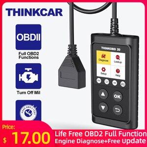 Image 1 - THINKCAR THINKOBD 20 Professional OBD2 Car Auto Diagnostic Tool OBD 2 Scanner automotivo Code Reader Check Engine Light