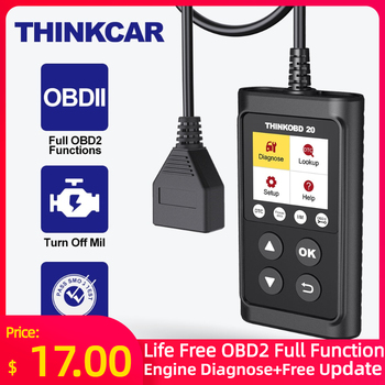 THINKCAR THINKOBD 20 Professional OBD2 Car Auto Diagnostic Tool OBD 2 Scanner automotivo Code Reader Check Engine Light|Code Readers & Scan Tools|   -