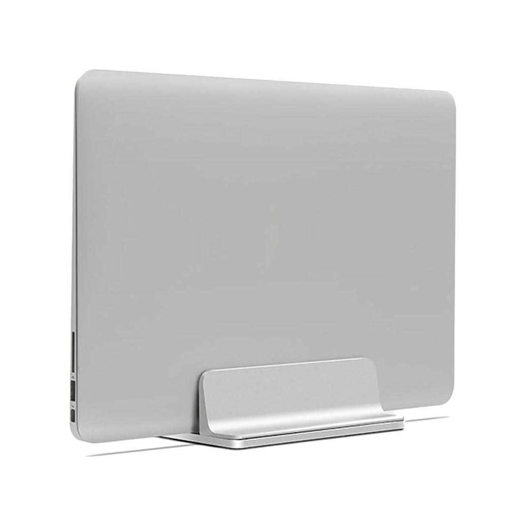 Vertical Aluminum Laptop Stand For Macbook Air Pro Desktop Stand Adjustable Dock Size For Surface Chromebook Notebook Mount