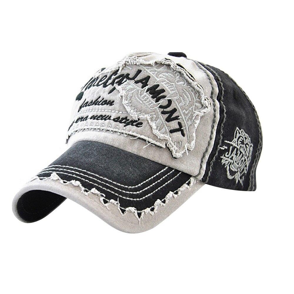 Women Embroidered Flower Denim Cap Fashion Baseball Cap Topee Casual Hats Summer Letter Mesh Caps Peak Caps Gorros#T2 1