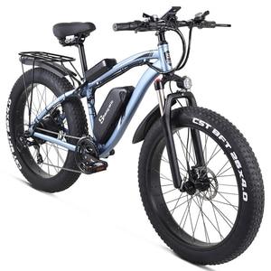 Image 3 - Shengmilo Elektrische Bike 1000W Herren Mountainbike Schnee Bike Elektro Fahrrad Ebike 48V17Ah Elektrische Fahrrad 4,0 Fett Reifen e bike