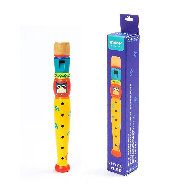 MiDeer Mi Deer Children Wood Meow Pass Clarionet ENLIGHTEN Music Clarionet Toy Wooden Baby Toy