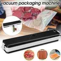 Automatyczne gospodarstwa domowego próżniowa zgrzewarka do pakowania Saver uszczelniania żywności kuchnia elektryczne zgrzewarka próżniowa do przechowywania żywności + 10 sztuk torba