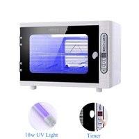 Electric UV Sterilizer Box Ozone Disinfection Cabinet Ultraviolet Light Sterilization Salon Manicure Nail Art Tools Household