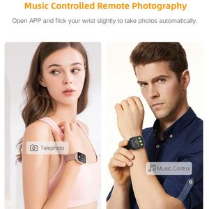 Image 3 - Lerbyee P80 Smart Watch Waterproof Heart Rate Monitor Fitness Watch Call Reminder Sport Smartwatch Sleep Monitor for iOS Android