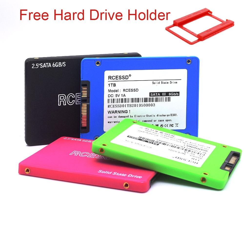 RCESSD Hdd Plastic2.5 SATAII SATAIII 120gb Ssd 240 Gb 480gb 512GB 1TB 2TB Internal Solid State Hard Drive For Computer Laptop PC