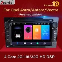 2Din Android 10 coche reproductor de DVD para el Opel Vivaro Zafira B Vectra C Corsa D C Astra H G J Meriva Multimedia GPS navegación Radio
