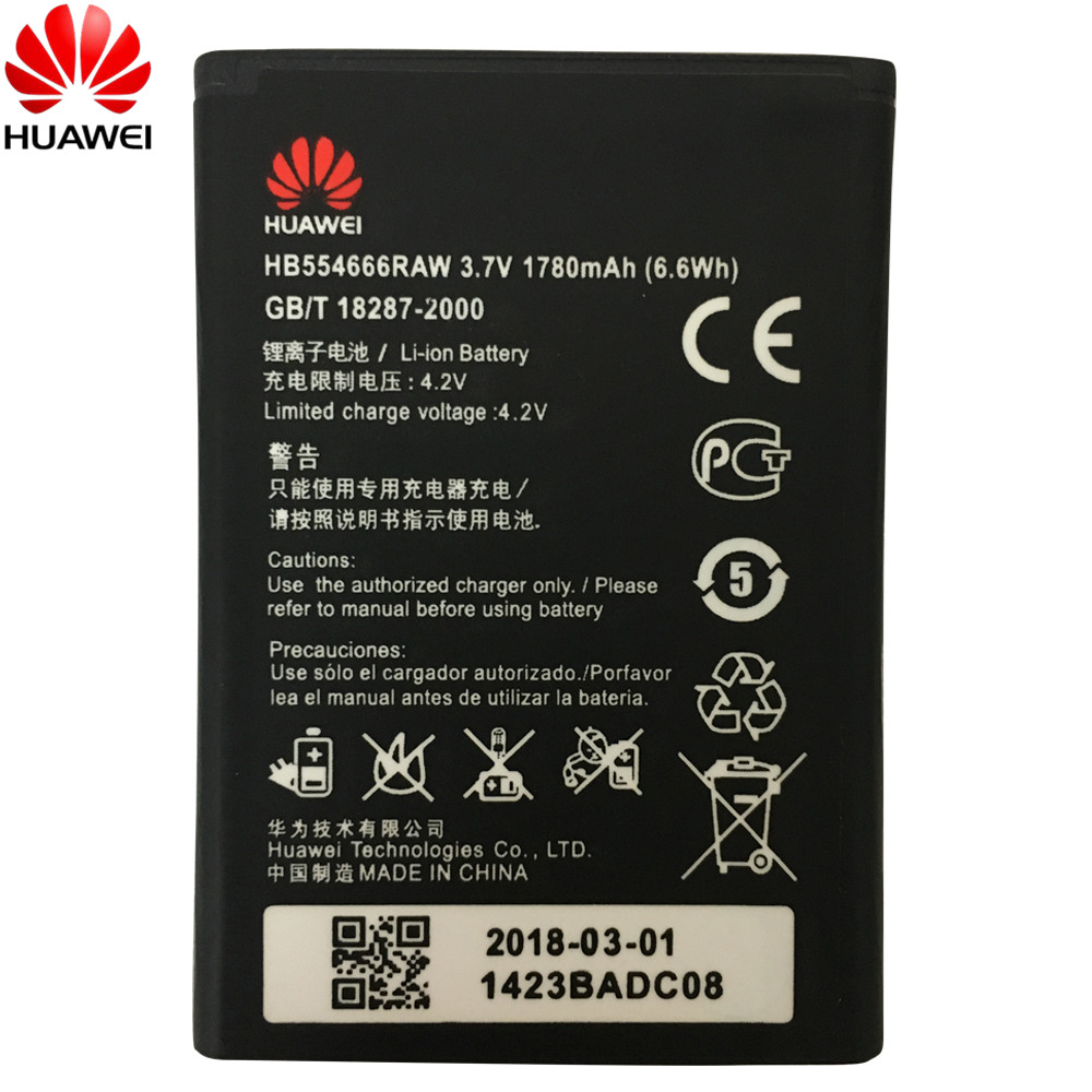 Huawei 100%Original Battery Wifi-Router HB554666RAW E5372 Replacement for 4G LTE E5372/E5373/E5375/.. title=
