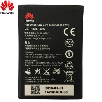 HuaWei 100% Original Battery HB554666RAW For Huawei 4G Lte WIFI Router E5372 E5373 E5375 EC5377 E5330 Replacement Phone battery original replacement battery for huawei e5336 e5330 e5375 ec5377 e5373 4g lte wifi router hb5f2h authenic battery 1780mah