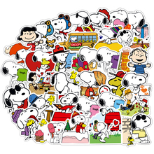 50PCS Brown's Dog Cartoon Stickers Waterproof Graffiti Laptop Guitar PVC Travel Luggage DIY Decal Sticker Children Classic Toys