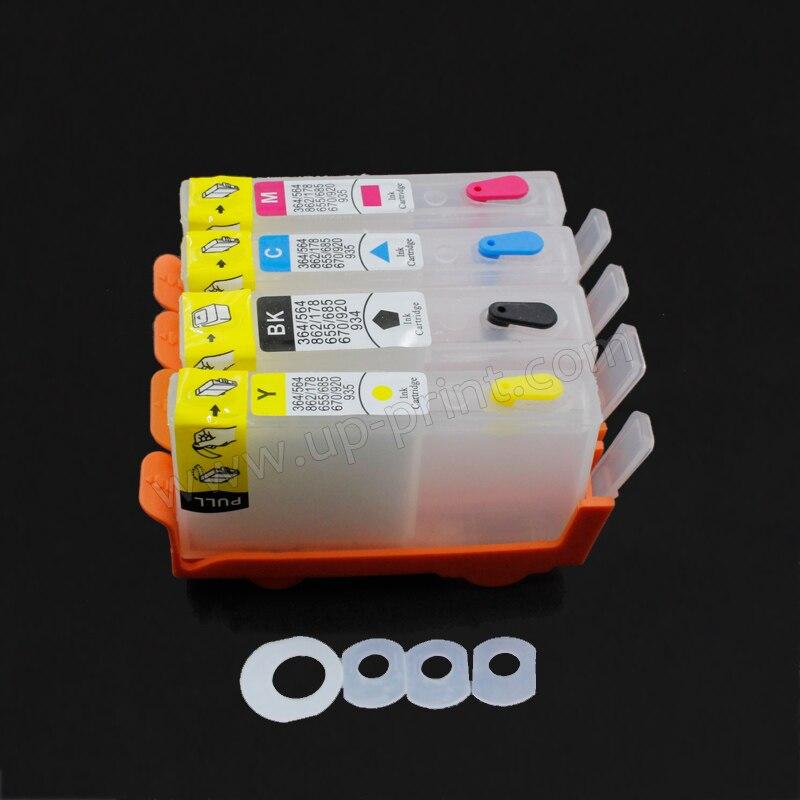 Hasta 4 piezas cartucho de tinta recargable para HP 903 con chip OfficeJet 6950 Officejet Pro 6960 6961 6963 6964 6970 impresora-in Cartuchos de tinta from Ordenadores y oficina on AliExpress - 11.11_Double 11_Singles' Day 1