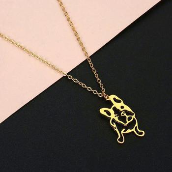 Dod Bulldog Pendant Necklace 2