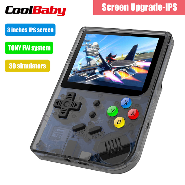RG300 3 inch Video games Draagbare Retro console Retro Game Handheld Games Console Speler 16G + 32G 3000 GAMES Tony systeem