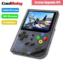 RG300 3 pulgadas Video juegos portátil Retro consola juego Retro Juegos de mano consola reproductor 16G + 32G 3000 juegos de Tony sistema