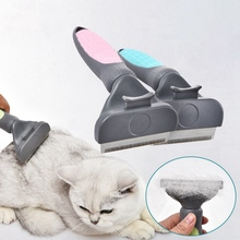 Dog Hair Remover Comb Pet Cat Brush Grooming Tools Pet Shaving Knife Clipper Pet Trimmer One-Button Combs Supply for Cat Dog