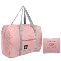 2021 neue Nylon Faltbare Reisetaschen Unisex Große Kapazität Tasche Gepäck Frauen Wasserdichte Handtaschen Männer Reisetaschen Kostenloser Versand