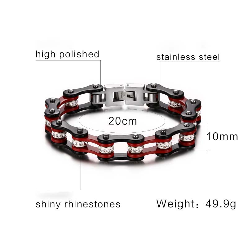 FXM HBB12 new arrival Locomotive chain Find jewelry for women birthday gift best selling silver bracelet lover bracelet zircon