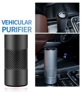 Image 5 - Giahol Auto Luchtreiniger Hepa Filter Negatieve Ionen Generator Zuiveren Lucht In Auto Draagbare Luchtreiniger Voor Auto Thuis Desktop