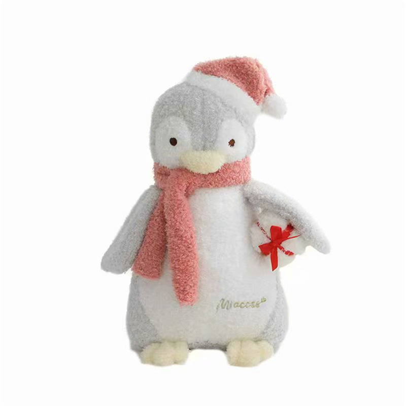 Permalink to New Cartoon Soft Christmas Penguin Plush Toys Kawaii Baby Bedtime Dolls Valentine's Day Christmas Creative Gifts Popular Toy