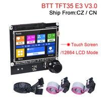 BIGTREETECH TFT35 E3 V3.0 pantalla táctil 12864 pantalla LCD para SKR MINI E3 V2 Ender 3 V2 actualización MKS TFT35 CR10 SKR 2 SKR V1.4