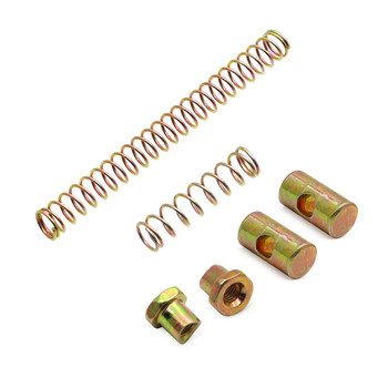 Pack of 6 For HONDA CT70 K0 / Z50 SL70 SL100 SL125 ST90 CT90 rake Adjustment Hardware Kit Springs Pivot Joints