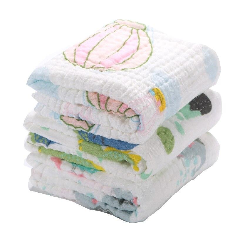 lamhghg musselina swaddle bebe cobertores swaddling 100 algodao swaddle envoltorio para bebes recem nascidos 6 camada
