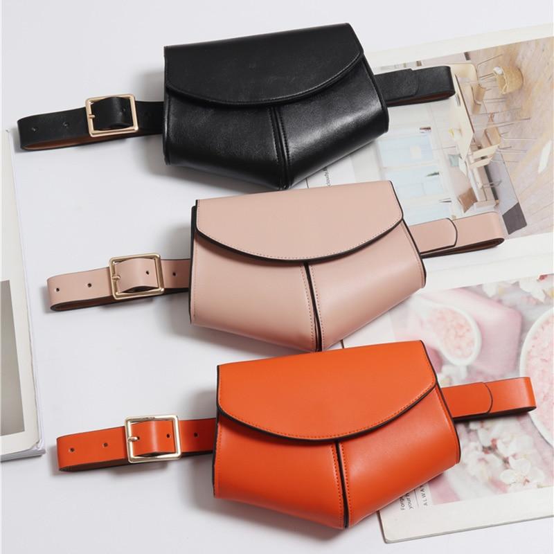 Women Serpentine Fanny Pack Ladies New Fashion Waist Belt Bag Mini Disco Waist Bag Leather Small Shoulder Bags 040301