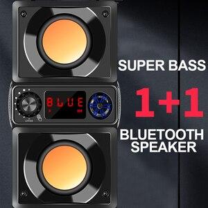 Image 3 - סאב רמקול סופר בס 5.0 Bluetooth מחשב רמקול שני קרנות 6D Surround סטריאו חיצוני בית נייד רמקולים TF FM