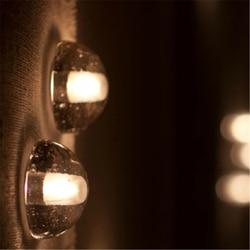 LED Neteor prysznic lodu lampy ścienne przejściach i korytarzach na klatkę schodową/ścianę lampa artystyczny design oświetlenie kryształowe darmowa wysyłka w Wewnętrzne kinkiety LED od Lampy i oświetlenie na
