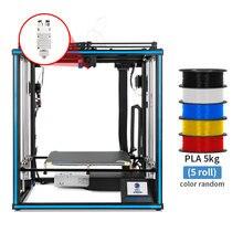 Tronxy X5SA-2E 3D Drucker DIY Kit Große Größe Dual Extrusion Kopf 2 Farbe Druck Ender Impresora Drucker Corexy PLA