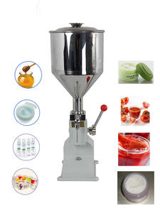 Filling-Machine Liquid-Paste Oil-Filler Cosmetic Manual A03 for Cream-Shampoo 5--50ml