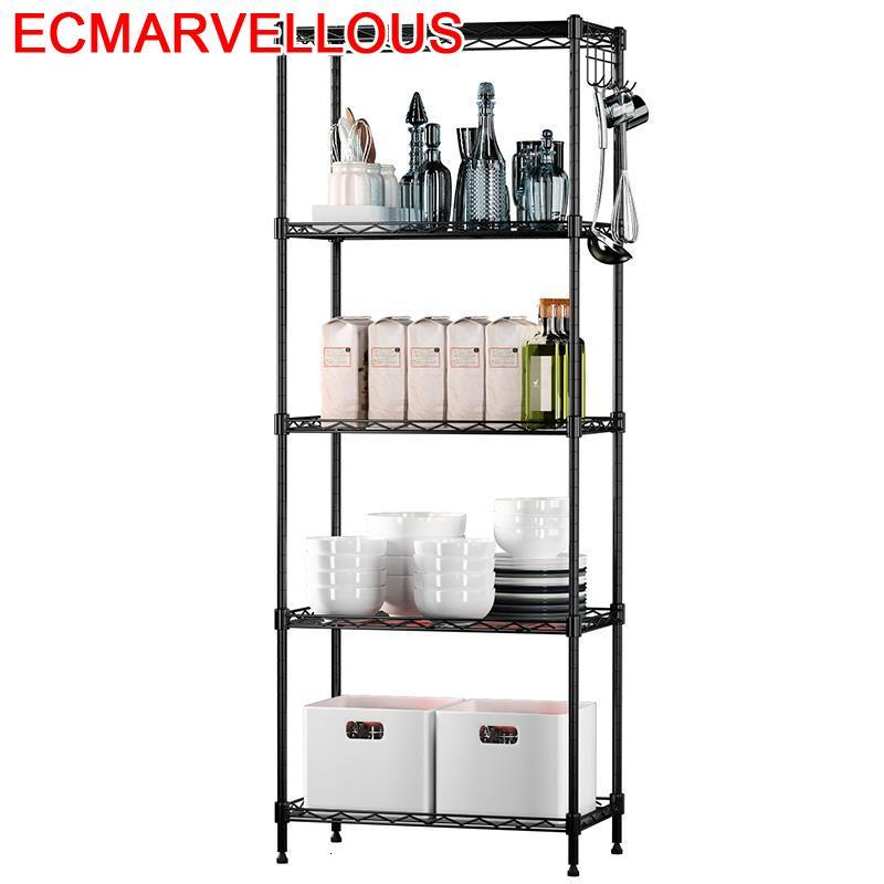 De Pared Decorativos Etagere Repisa Shelves For Wall Metal Bathroom Organizer Prateleira Kitchen Storage Rangement Cuisine Shelf